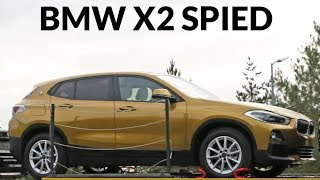 2018 BMW X2 Spied Undisguised