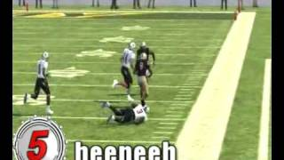 NCAA Football 09 Top 10 Video - November 3