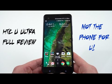 HTC U Ultra Official Full Review: Not the Phone for Me (or U)