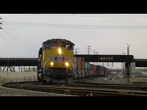 Union Pacific Freight Trains - 7/14/11