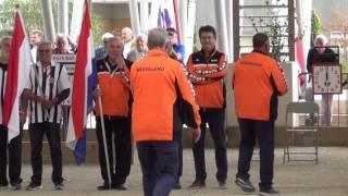 Championnat d'Europe Vétérans 2016 à MONACO, Finale Luxembourg vs Pays-Bas