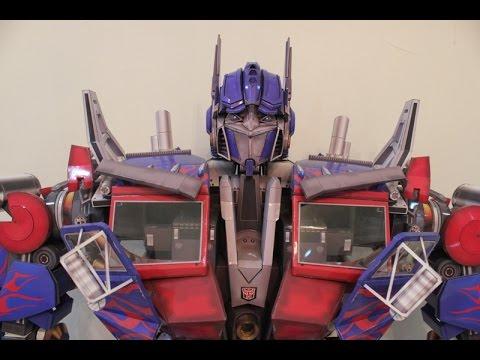 Papercraft The Making of Optimus Prime Papercraft