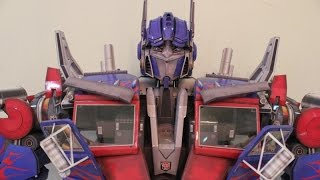 The Making of Optimus Prime Papercraft