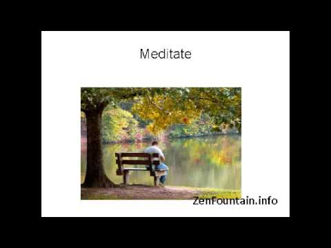 zen fountain relaxation tips how a small indoor water fountain helps to reduce stress