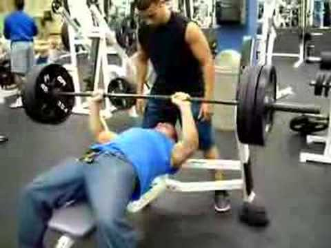 Bench Press 315 Lbs Youtube