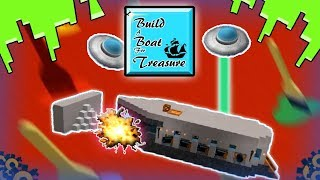 This didn't go so well... | Roblox Build A Boat For Treasure With Railroad,Preserver,2000