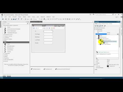 Advanced C# Tutorial 16 How to connect to SQL Server using bindingSource with C# Programming