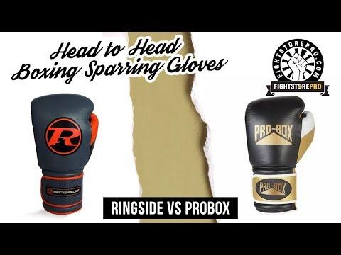 Boxing Sparring Gloves - Ringside Alpha Versus Pro Box Pro Spar