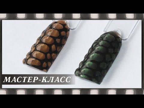 Дизайн ногтей змеиная кожа. Маникюр модные тенденции