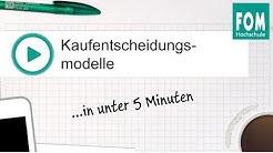 Kaufentscheidungsmodelle in unter 5 Minuten | Video Based Learning
