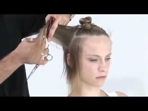 ПАРИКМАХЕР Женская стрижка на длинные волосы