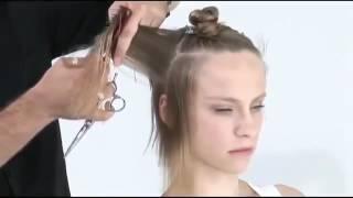 Короткая женская стрижка для начинающих. Парикмахер