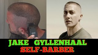 How To Cut Your Hair Like Jake Gyllenhaal In Jarhead - Self Haircut - HIGH AND TIGHT MILITARY