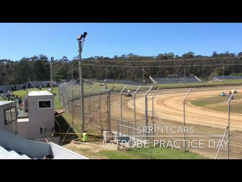 Sprintcars Practice Day Latrobe Speedway 8/10/16