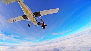 MY FIRST SKYDIVE - PUSHING THE LIMITS - GoPro HERO4