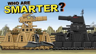 """""""American KV 44 turned out to be smarter"""" - Cartoons about tanks"""
