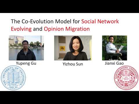The Co-Evolution Model for Social Network Evolving and Opinion Migration