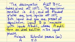 Chemical and Phase Equilibrium