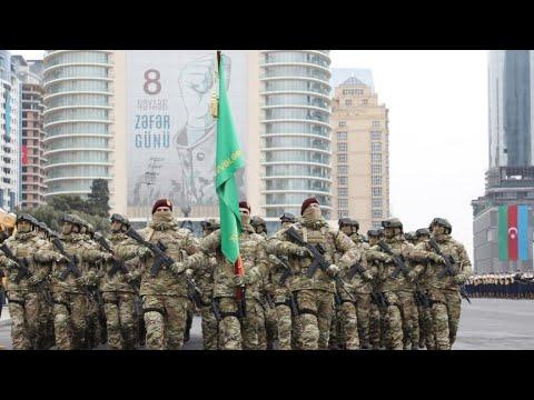 'Qarabağ Azərbaycandır!' - Zəfər paradı