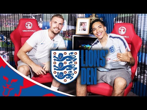 Henderson Talks About Amazing Tournament So Far! | Lions' Den Episode Five | World Cup 2018