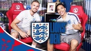 Live with jordan henderson! | lions' den episode five | world cup 2018
