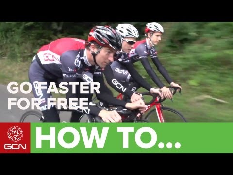 How To Cycle Faster For Free - Ride Your Bike Faster With Less Effort