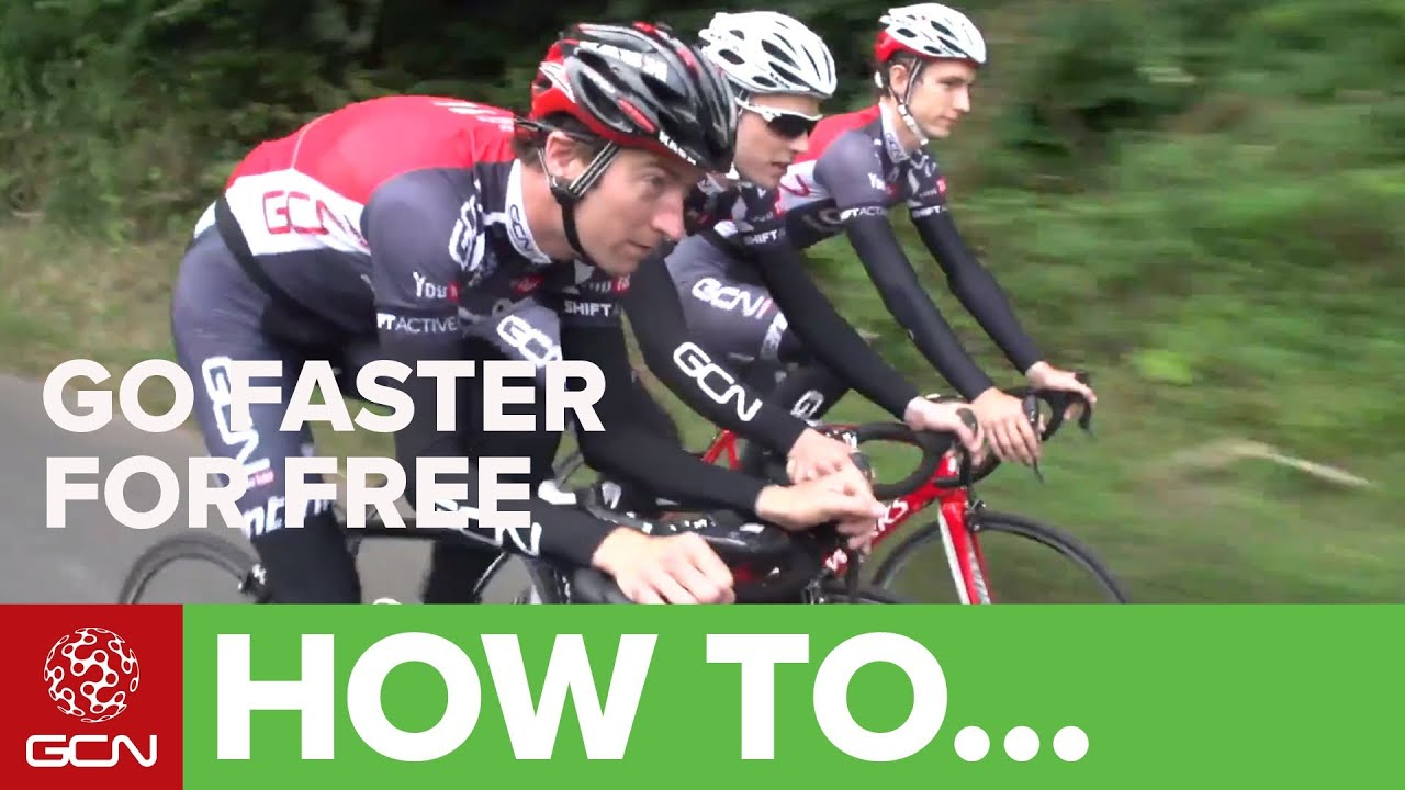 fb7c25c2d65 How To Cycle Faster For Free - Ride Your Bike Faster With Less Effort. Global  Cycling Network