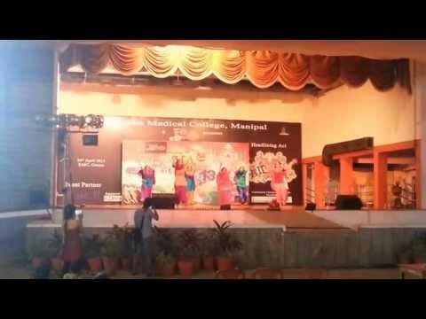 KMC Manipal FLAVA 2013 | PUNJAB State Performance | Jago,Giddha,Sammi & BHANGRA!!!