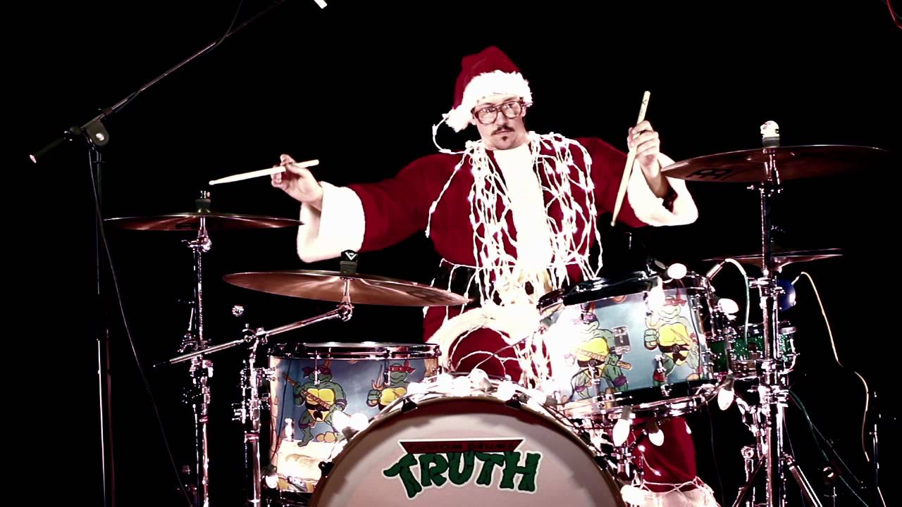 Christmas Drummer.An Adventure Drums Christmas Thank You