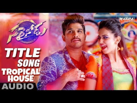 Sarrainodu  - Tropical House Mix - Remix - DJ GOLDIE