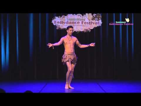 Turkish male Bellydancer Zadiel Sasmaz - Balady & Drum Solo   Amazing Belly Dance Show from a MAN!