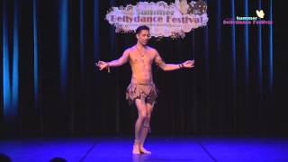 Turkish male Bellydancer Zadiel Sasmaz - Balady & Drum Solo | Amazing Belly Dance Show from a MAN!