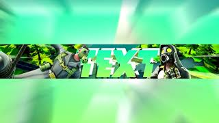 Free Fortnite Banner Template Toxic
