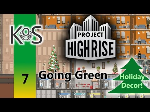 Project Highrise - Going Green: Ep 7: Mass Migration - Let's Play Scenario  