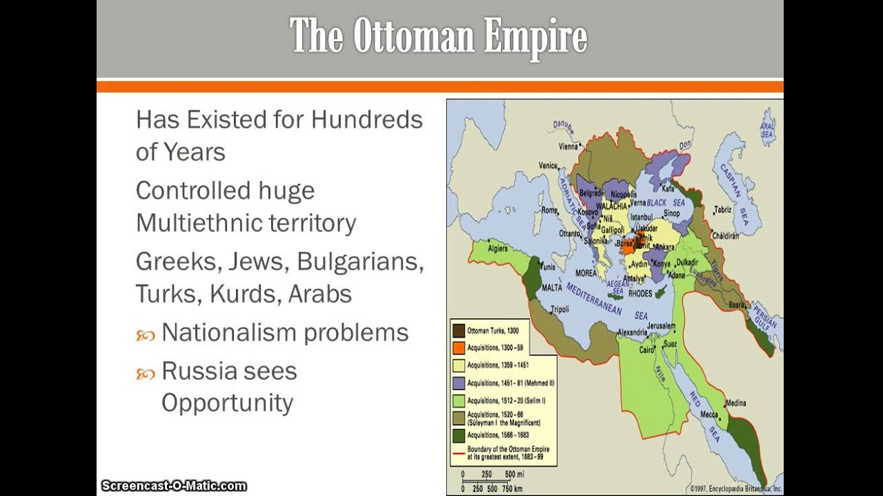 Nationalistic Collapse Of The Ottoman Empire Youtube