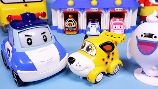 Robocar Poli Vroomiz  car toys 로보카폴리 브루미즈 구름다리 요괴워치 장난감