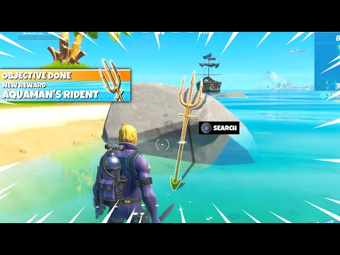 Unlock Aquaman's TRIDENT PICKAXE In Fortnite! (EASY)