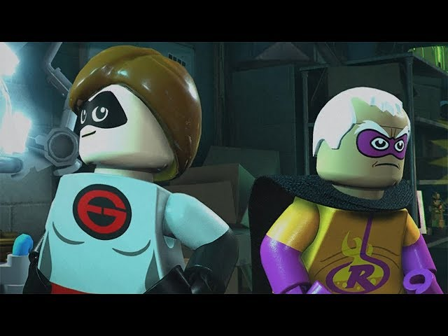 LEGO The Incredibles Walkthrough Part 4 - Chapter 4: Elastigirl on the Case (The Incredibles 2)