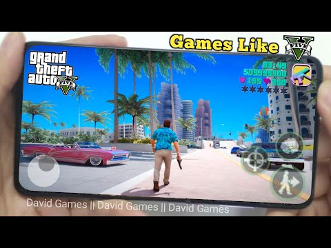 Top 5 Best Offline Games Like GTA 5 Android & IOS 2020 | Open World Games 2020