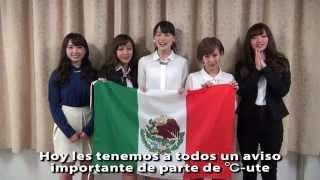"""ute ha decidio su concierto en México!!: """"℃-ute Cutie Circuit ~¡Va..."""