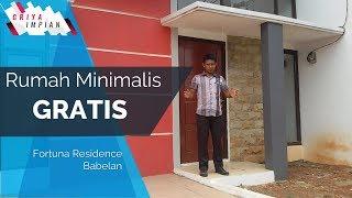 Desain Rumah Minimalis Type Harmony   Fortuna Residence Babelan Bekasi   Griya Impian #4 (2018)