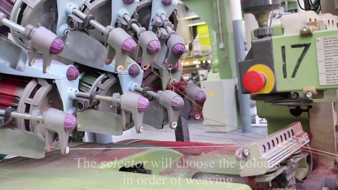 The Making of Tartan: Weaving