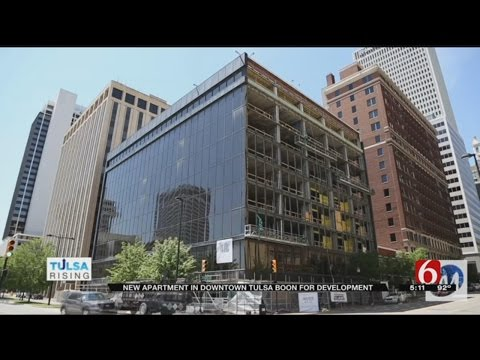 Developer Hopes Tulsa's Meridia Building Will Bring Life To Downtown