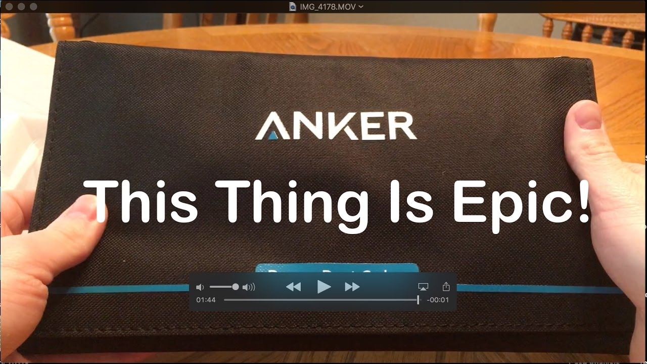 Anker Powerport Portable Solar Panel Charger Unboxing