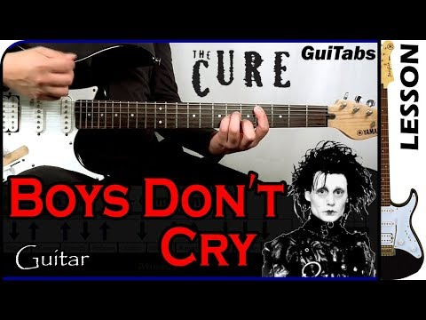 How to Play Boys Don't Cry - The Cure 😢 / Guitar Tutorial 🎸