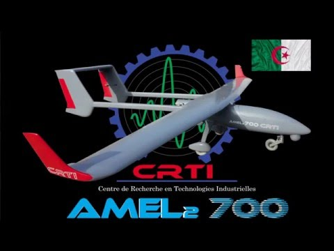 Algerian Drone (UAV)  AMEL 2 -700