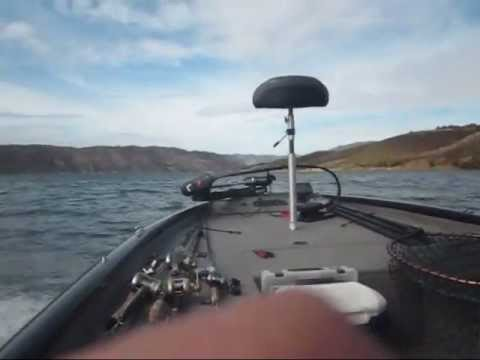 Castaic lake bass fishing and bass boat youtube for Castaic fishing report