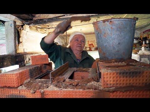 видео: Пенсионерка — строитель печей | Человек на карте