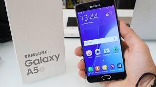 Samsung Galaxy A5 (2016) SM-A510F - Обзор/Review