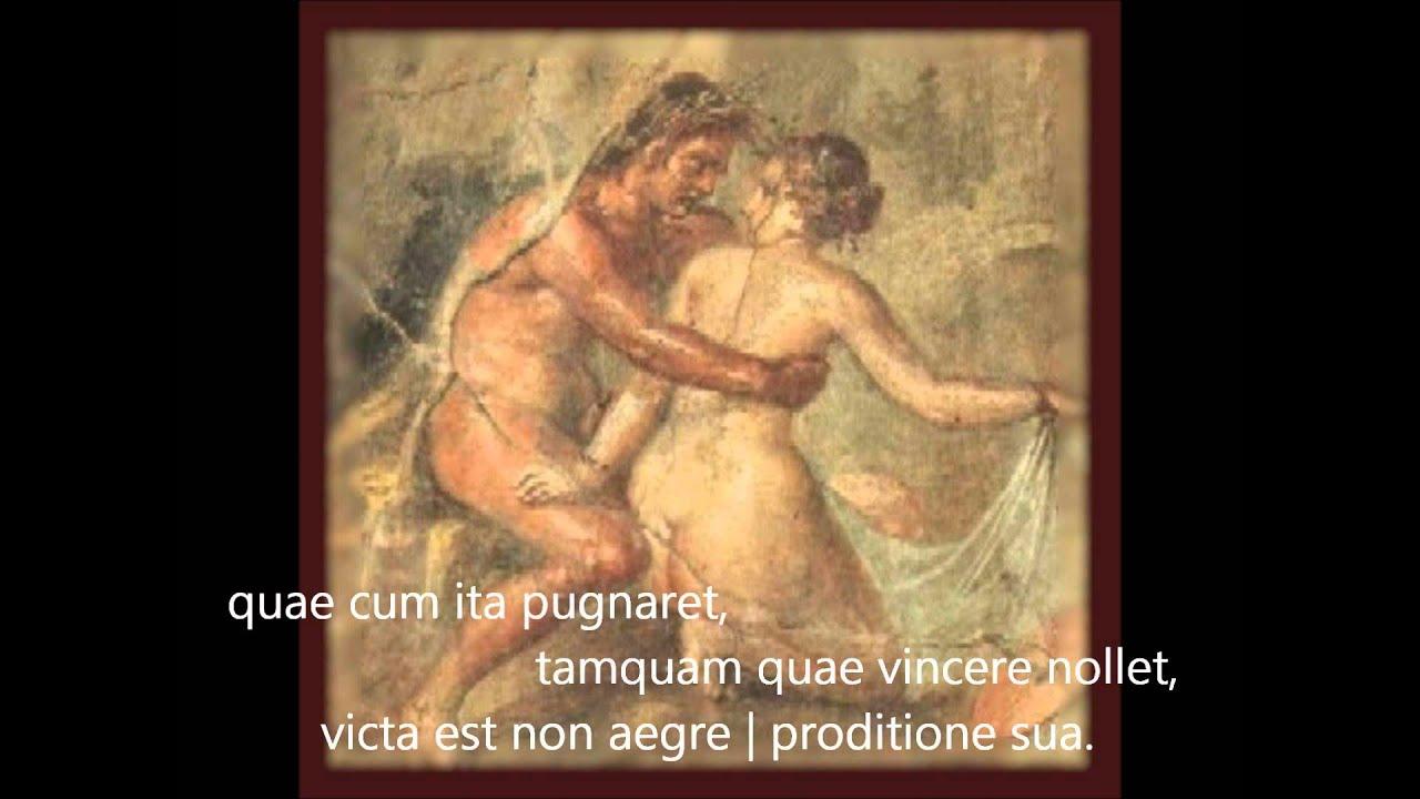 Ovid: Publii Ovidii Nasonis Amores 1.5 - YouTube